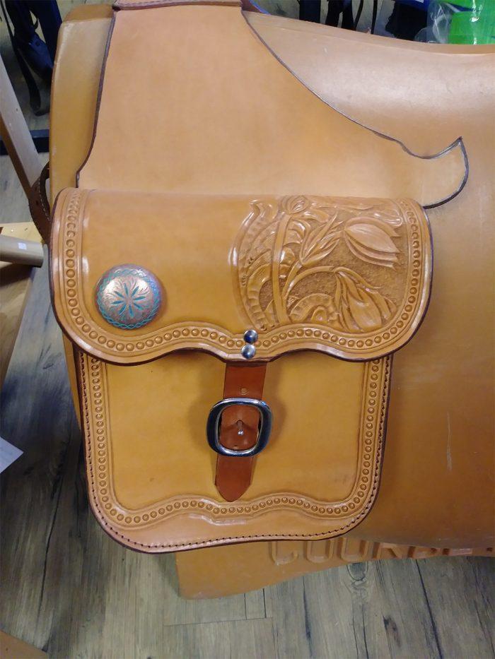 JBS Alberta Crocus saddlebags