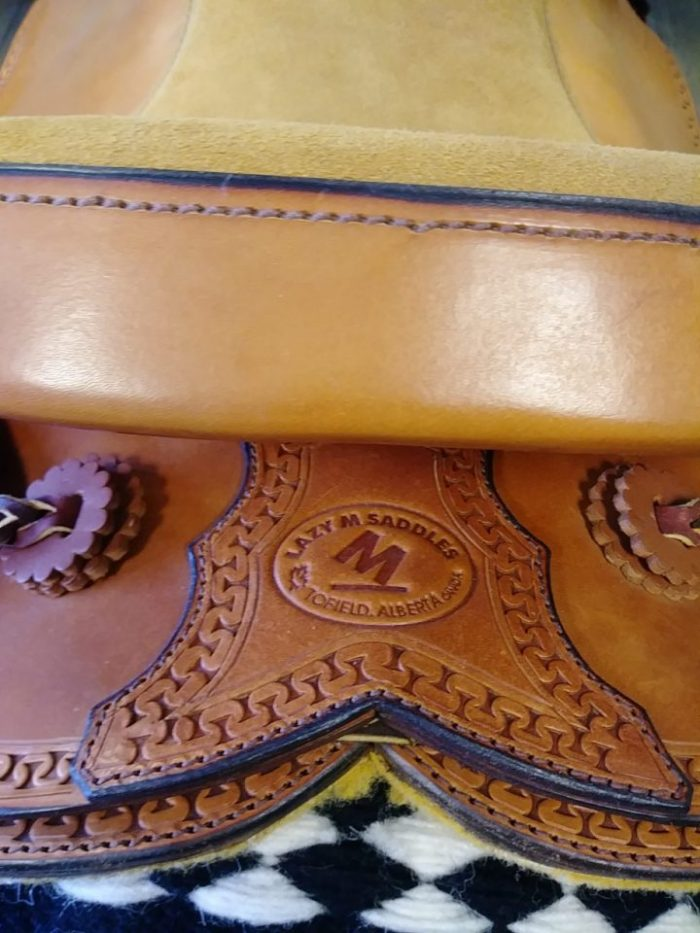 LazyM Saddles - Child or lady light saddle