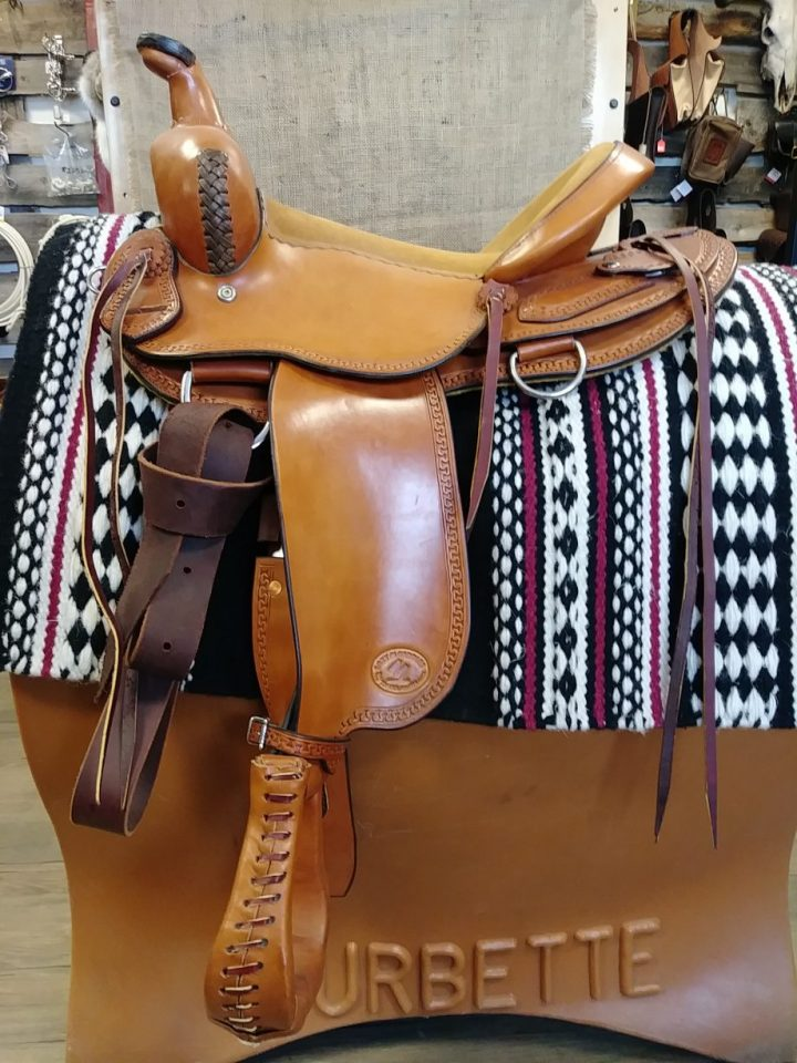 Lazy M Saddle Childs or ladies light saddle