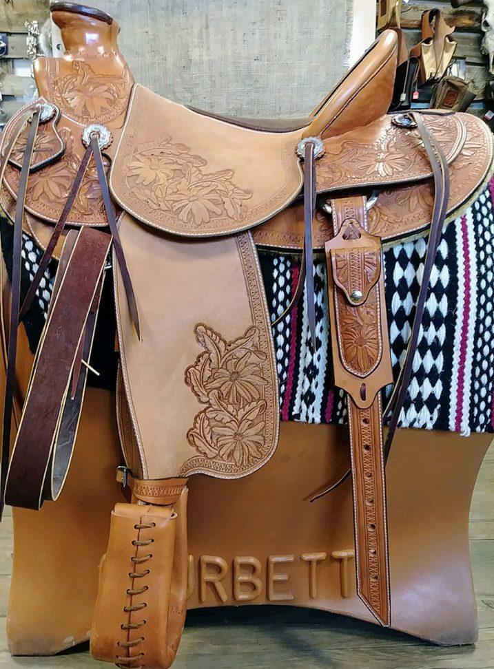 LazyM Saddles - Daisy saddle