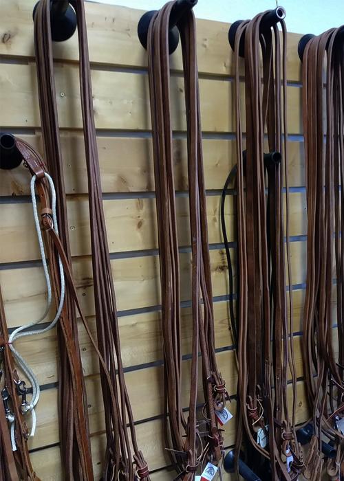 JBS Hermann oak leather reins