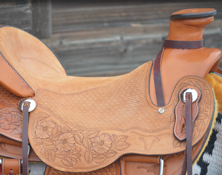 James Built Saddlery saddle