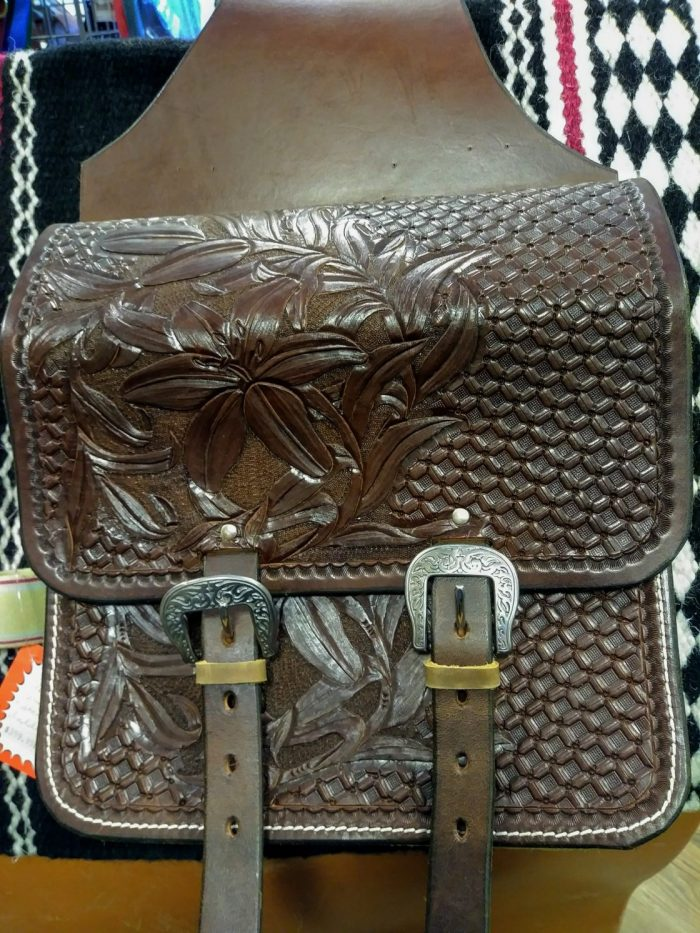 JBS Lilly saddlebags with Round Buckles