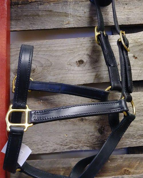 English bridle halter