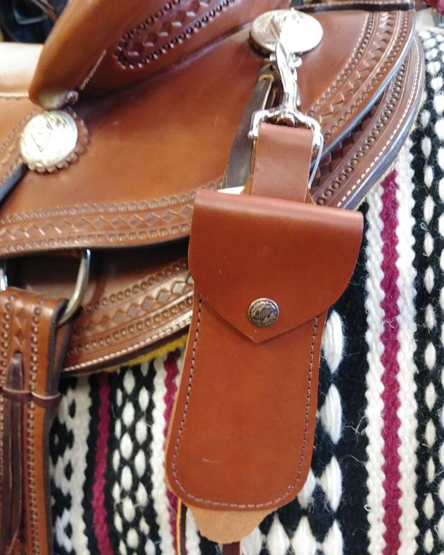 JBS brown hoof pick holder