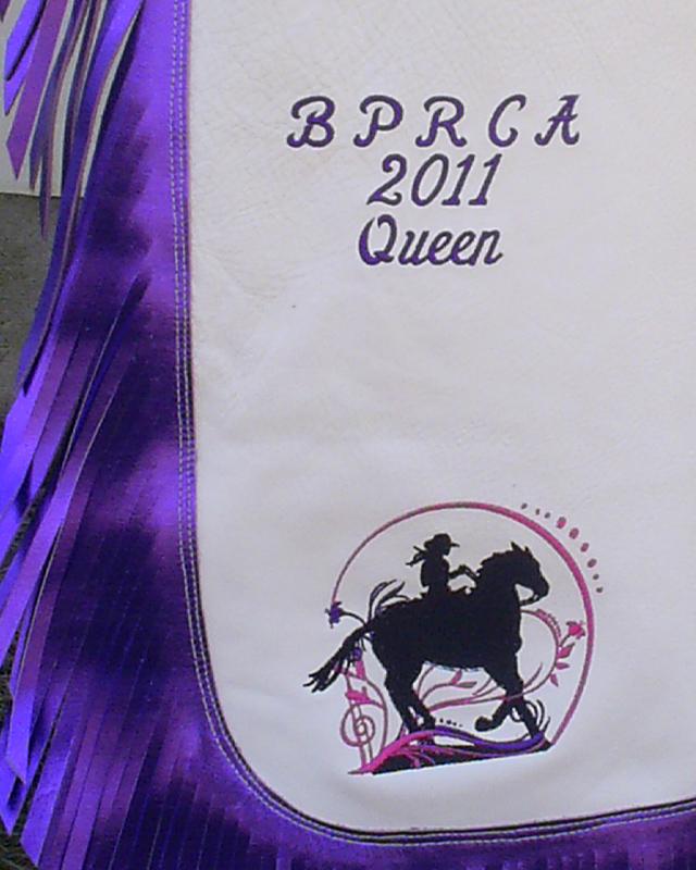 JBS rodeo queen custom chaps