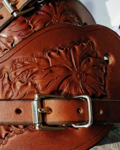 JBS rose spur straps-detaila