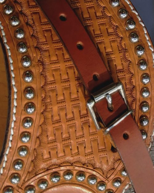 JBS western large spur straps