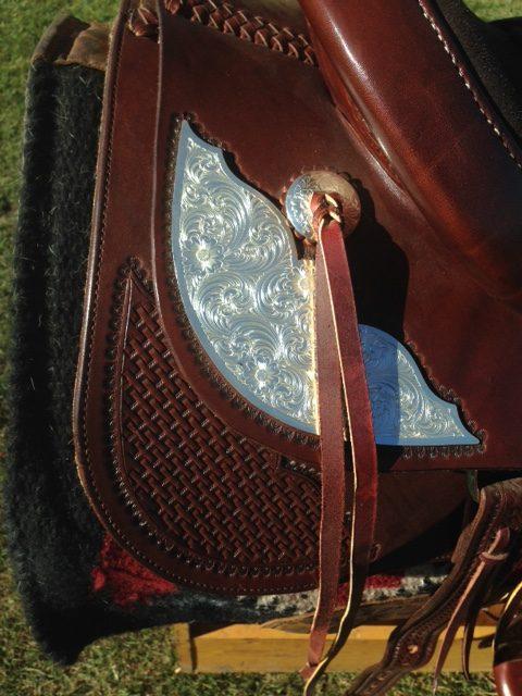 Custom show and pleasure saddle