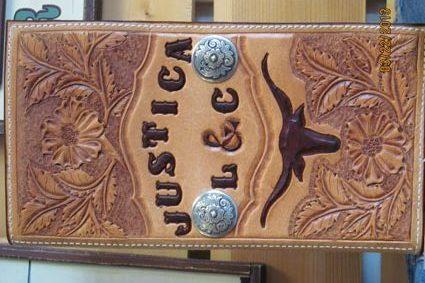 James Built Saddlery Custom Manifest Cover
